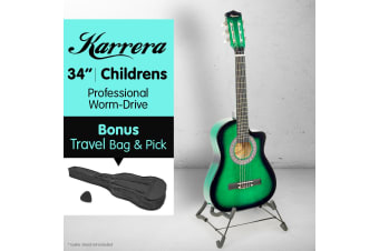 Karrera Childrens Acoustic Guitar - Green