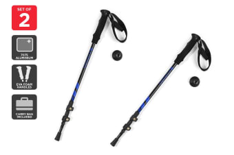 Komodo Lightweight Aluminum 7075 Trekking Poles with Carry Bag