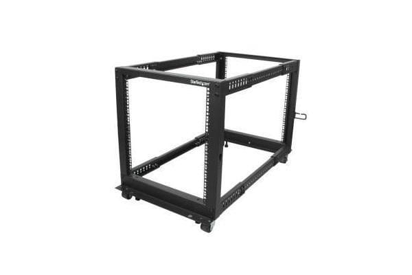 STARTECH 12U Adjustable Depth 4 Post Server Rack