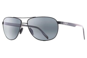 Maui Jim Castles 7282M Matte Black Mens Womens Sunglasses