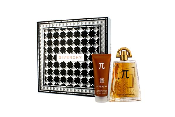 Givenchy Pi Coffret: Eau De Toilette Spray 100ml/3.3oz + All Over Shampoo 75ml/2.5oz (2pcs)