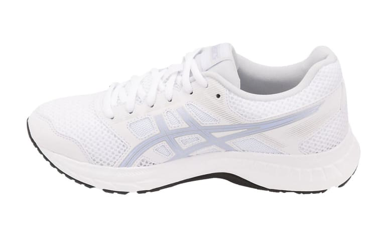 ASICS Women's GEL-Contend 5 Running Shoe (White/Vapor, Size 6.5)
