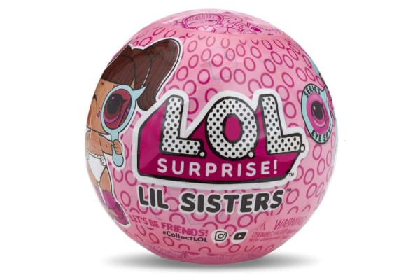 LOL Surprise Lil Sisters Ball Series 4