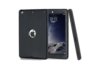 Heavy Duty Shockproof Case Cover For iPad Mini 4-Black