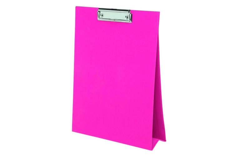 4PK ColourHide A4 Paper Stand Up Clipboard/Whiteboard Document Writing Board PK