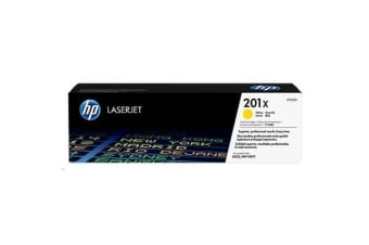 HP Toner 201X Yellow CF402X (2300 pages)