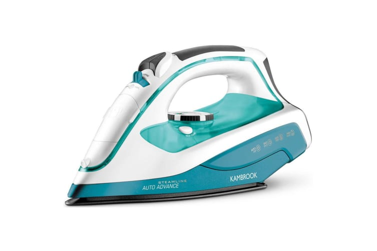 Kambrook Steamline Auto Advance 2400W Steam Iron/Clothes/Garment Ironing Teal