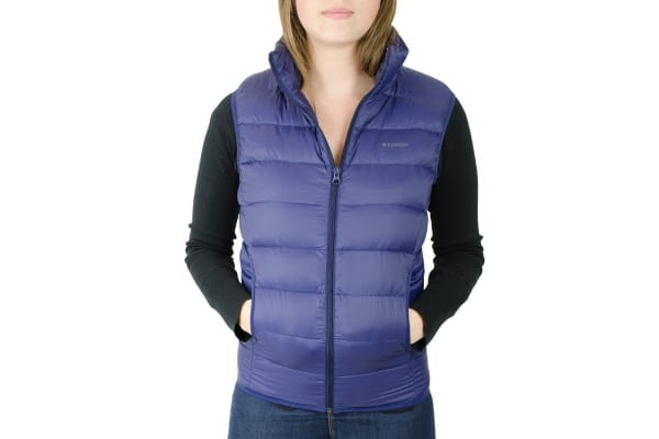 Komodo PackLite Women's Down Vest (Navy, Small)