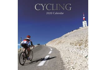 Cycling - 2020 Wall Calendar 16 month Premium Square 30x30cm (P)