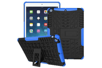 Heavy Duty ShockProof Case Cover Apple iPad Air 1-Blue