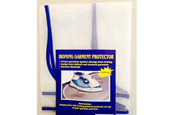 IRON COVER  Garment - ironing cloth protector for protection of delicate fabric