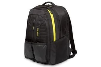 "Targus Racquets Backpack for 14-15.6"" Laptop/Notebook -Black/Yellow Suitable for Fitness & Sport &"