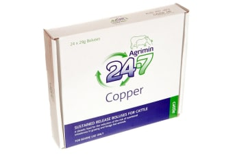 Agrimin 24-7 Copper Bolus For Cattle (May Vary) (One Size)