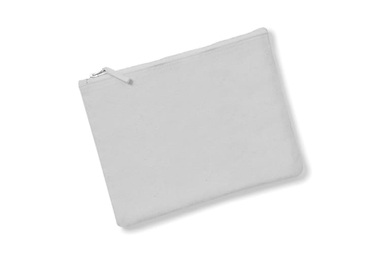Westford Mill Canvas Accessory Case (Pack of 2) (Light Grey) (S)
