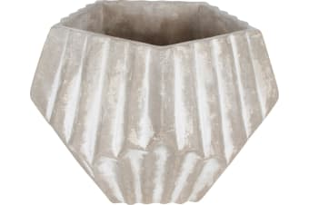 Paolo Concrete Pot Abstract Polygon Shape