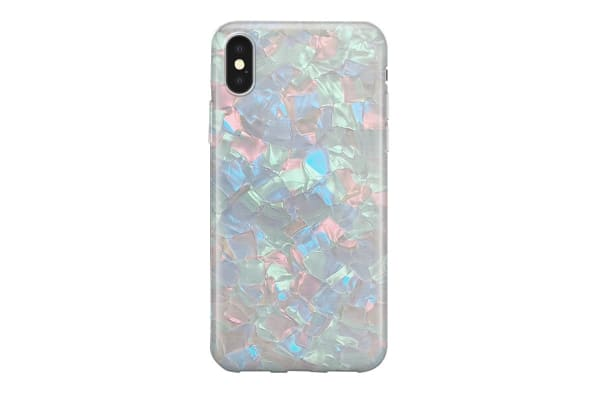 Recover iPhone XR Case - Green Shimmer (REC072)