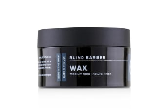 Blind Barber 60 Proof Wax (Medium Hold  Natural Finish) 70g/2.5oz
