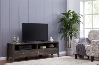 Shangri-La TV Entertainment Unit - Camden Collection (170cm, Dark Oak)