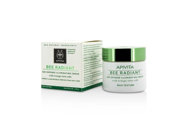 Apivita Bee Radiant Age Defense Illuminating Cream - Rich Texture (50ml/1.76oz)