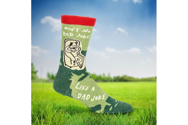 Ain't No Bad Joke Like A Dad Joke Socks – Mens Funny Father Sock