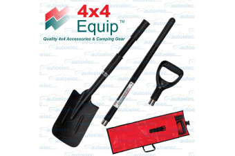 4x4 Equip Combo 3 Piece Recovery Shovel Tool 4wd Camping Spade Off Road Idh-2-1