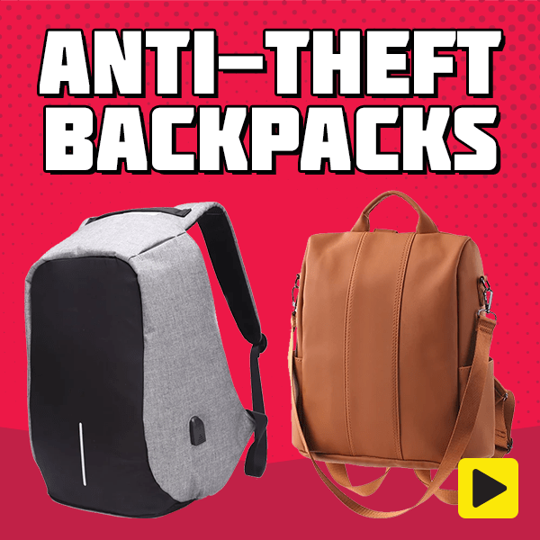 Anti-theft Backpacks