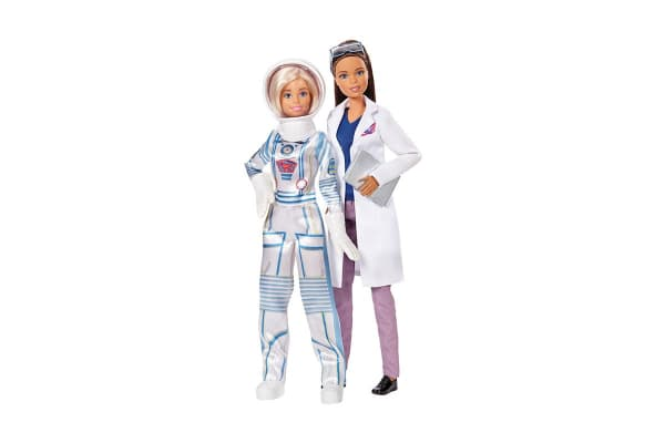 Barbie Careers 2 Pack Astronaut & Scientist