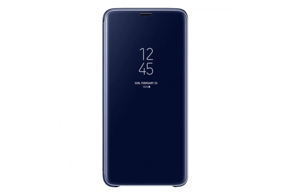Samsung Galaxy S9+ Plus Clear View Standing Cover - Blue