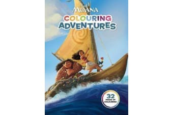 Moana - Colouring Adventures (Disney)