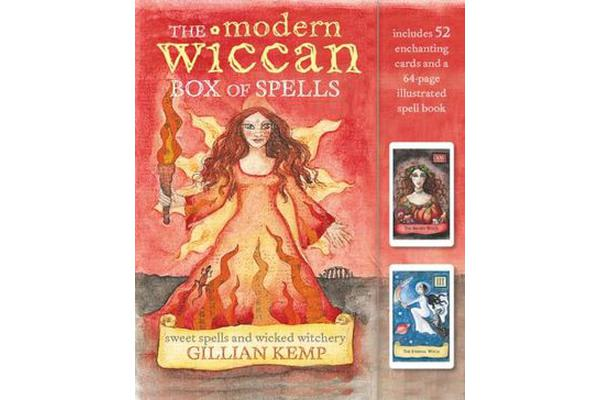 The Modern Wiccan Box of Spells - Includes 52 Enchanting Cards and a 64-Page Illustrated Spell Book
