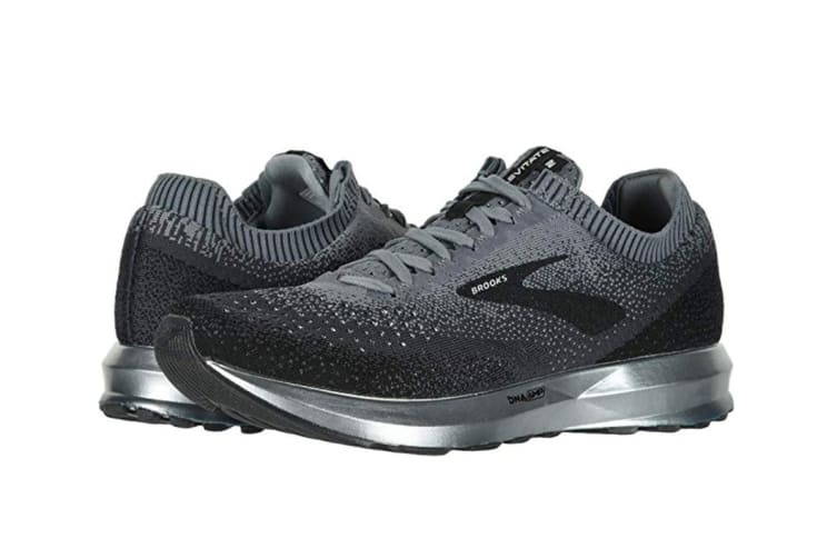 Brooks Men's Levitate 2 (Black/Grey/Ebony, Size 10.5)