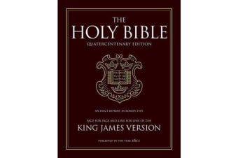 King James Bible - 400th Anniversary Edition