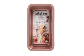 Wiltshire Rose Gold Non Stick Loaf Pan 24cm