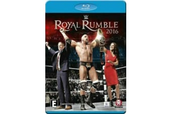 WWE: Royal Rumble 2016 BRAND NEW SEALED Blu-Ray - Rare- Aus Stock Blu-Ray NEW