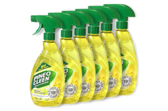 6x Pine O Cleen Lemon Lime 750mL/Multi Purpose House/Kitchen Cleaning Spray