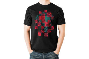 IT Chapter 2 Adults Unisex Collage Design T-Shirt (Black)
