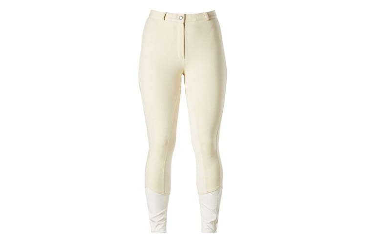 Harry Hall Womens/Ladies Chester Sticky Bum II Breeches (Ivory) (26 inches)