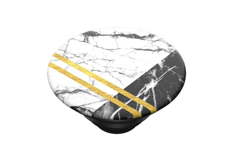 2pc PopSockets Gilded Swirl/Art Deco Marble Swappable Top for Pop Socket Base