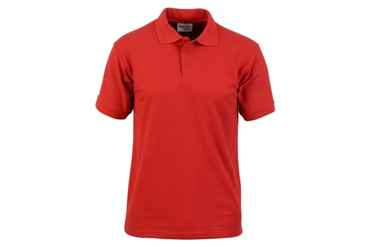 Absolute Apparel Mens Precision Polo (Red) (S)