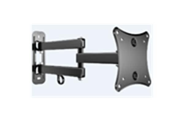 "Loctek PSW737S 10""-24"" Full Motion Wall Mount Tilt -5 +15deg. VESA 75x75mm 100x100mm. Max Capacity"