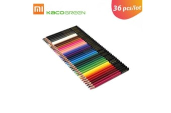 36pcs/lot Xiaomi KACOGREEN ARTIST Wood Color Pencils Set