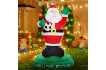 Inflatable Christmas 1.8M Santa Reindeer Light Xmas Outdoor Decor