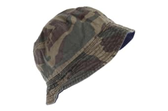 Tom Franks Mens Camo Bucket Summer Hat (Camo)