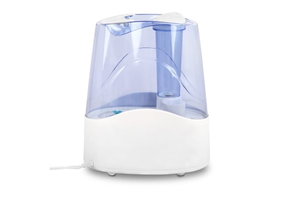 Ultrasonic Cool Mist Air Humidifier 4.5L (White/Blue)