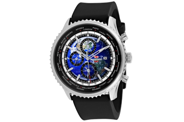 Seapro Men's Meridian World Timer GMT