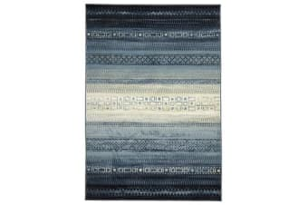 One Tribe Navy Modern Rug