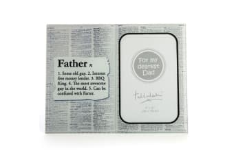 Dictionary Father Definition Tallulah Photo Frame