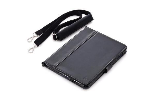 Simplism Leather Flip Note for iPad - Black