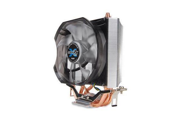 ZALMAN CNPS7X LED V-Shaped Dual Heat Sink Ultra Quiet 92mm Blue LED PWM Fan CPU Cooler