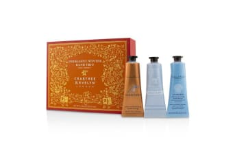 Crabtree & Evelyn Indulgent Winter Hand Trio (1x Gardeners, 1x La Source, 1x Goatmilk & Oat) 3x25g/0.86oz